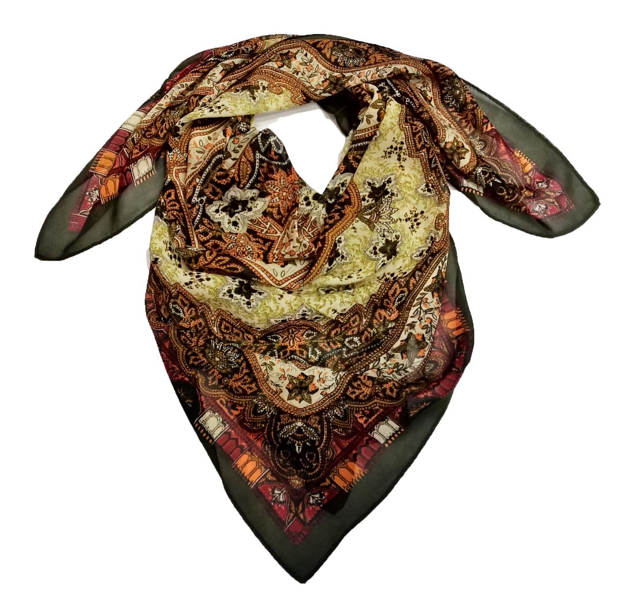 Платок Гулия, 90*90 см, опт 52 грн.