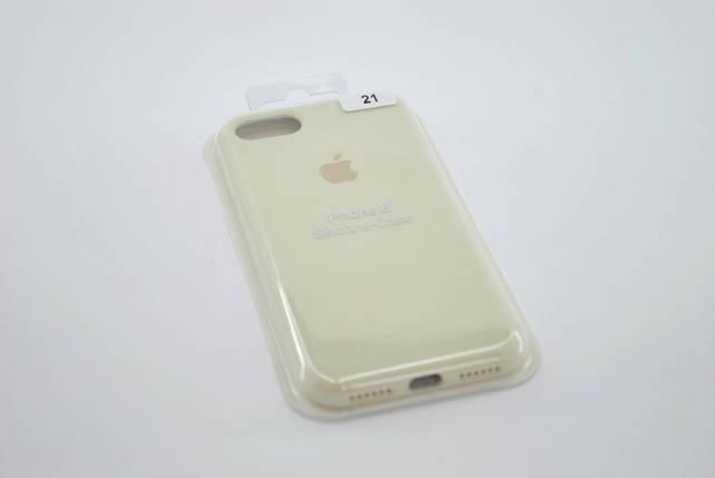 Чехол iPhone 7+ /8+ Silicone Case original antique white FULL №21 , фото 2