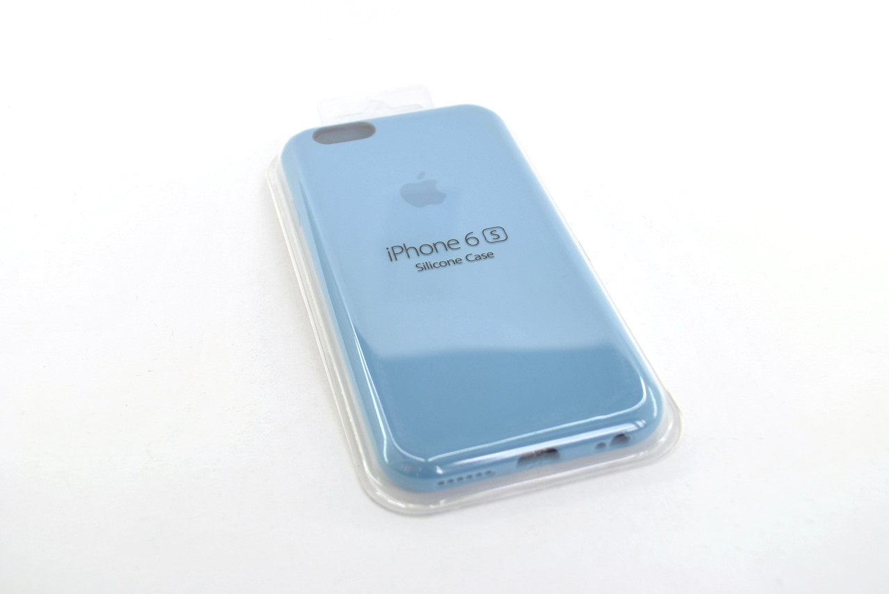 Чехол iPhone 7+ /8+ Silicone Case original new blue FULL №12