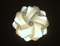 Лампа Пазл Харьков,IQ lamp конструктор - лампа . опт розница.30деталей. маленький шар., фото 1