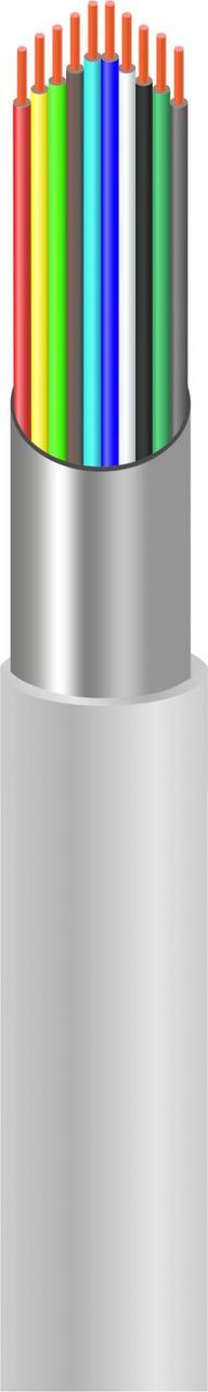 Сигнальный кабель CCA 10x7/0.22 экранированный бухта 100м