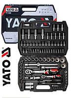 Профессиональный набор инструментов Yato YT-1268 94 предмета, польский набор ключей Ято