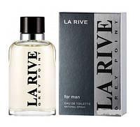 Туалетна вода для чоловіків La Rive Grey Point 90 мл (5906735234022)