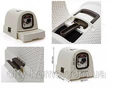 Туалет для кошек Curver кремовый, фото 2