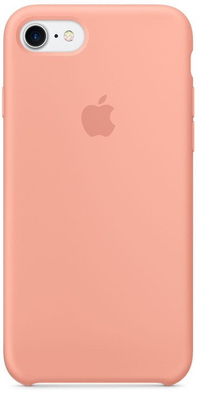 Чехол накладка silicone case для iphone 8 - flamingo