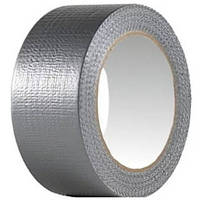 Армированная клейкая серая лента 48 мм х 10 м х 150 мкм
