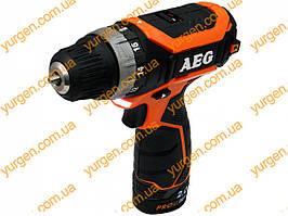 Шуруповёрт аккумуляторный AEG BS 12C2Li-202BKIT-1