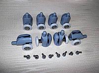 Набор нижних колес для душа B - 43A 23мм, фото 1