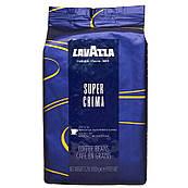 Оригинал! Кофе в зернах Lavazza Super Crema 1кг, Италия