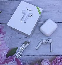 Бездротові навушники в кейсі Bluetooth гарнітура i8 mini