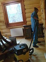 Качественная уборка после ремонта домов со сруба, дач, домов!