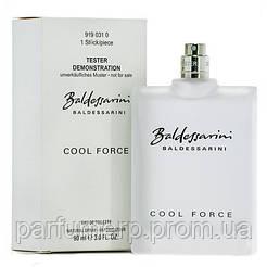Baldessarini Cool Force (90мл), Мужская Туалетная вода Тестер - Оригинал!