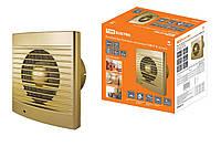 Вентилятор бытовой настенный 120 С-4, золото TDM