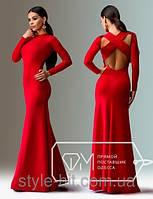 Вечернее платье с открытой спиной, фото 1