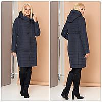 Женское осеннее стеганное пальто VS МТ-187, фото 1