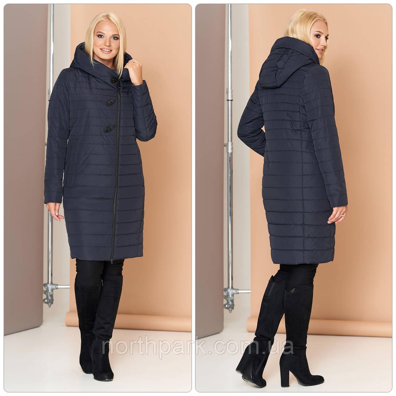 Женское осеннее стеганное пальто VS МТ-187