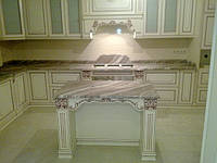 Кухонные столешницы/ столешницы из мрамора