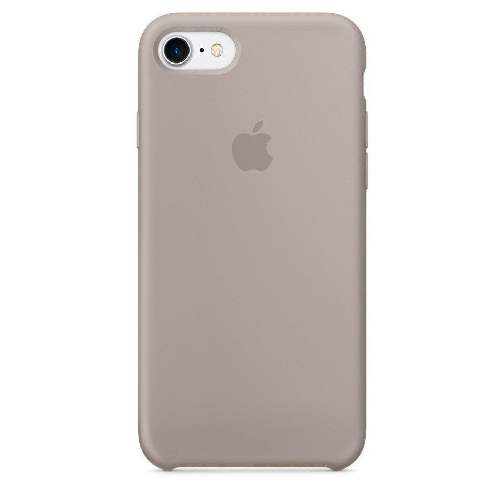 Чехол накладка silicone case для iphone 8 - pebble