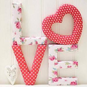 Об'ємні букви і весільні декорації