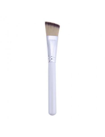Кисть для нанесения масок большая с прозрачной ручкой, 17,5 см