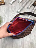 Красива Жіноча бананка Louis Vuitton коричнева Туреччина Якість поясна сумка на пояс VIP Луї Віттон репліка, фото 3
