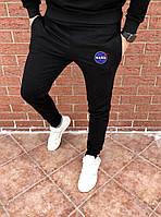 Мужские черные спортивные штаны, джоггеры, спортивні штани Nasa, Реплика