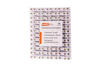 Клеммная колодка Apro - 20A x 14 мм² (120 шт.)