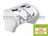 """Пластиковий тримач для туалетного паперу з малюнком """"Pisa"""" (Піза), Elif Plastik, фото 3"""