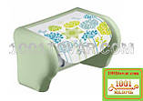 """Пластиковий тримач для туалетного паперу з малюнком """"Pisa"""" (Піза), Elif Plastik, фото 5"""