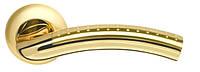 Дверные ручки ARMADILLO Libra LD26-1SG/GP-4 матовое золото/золото