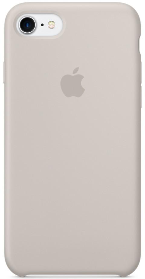 Силиконовый чехол Apple Silicone Case для iPhone 8 - Stone