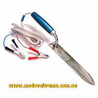 Нож пасечный электрический для распечатки сотов (12 В) (нержавсталь)