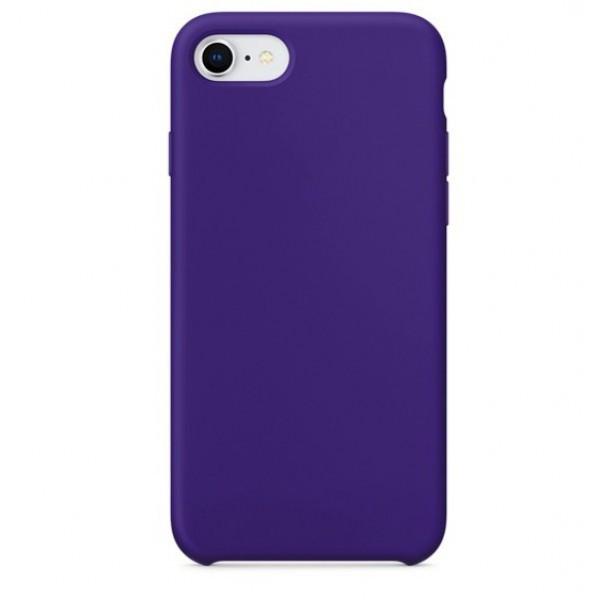Чехол накладка silicone case для iphone 8 - ultra violet