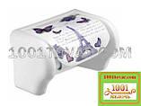 """Пластиковий тримач для туалетного паперу з малюнком """"Keep Clean"""", Elif Plastik, фото 2"""