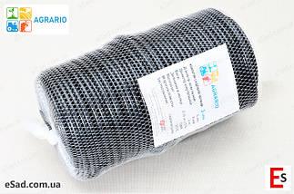 Кембрик - агрошнурок, агротрубка Аграріо - Agrario 5 мм, 1 кг, ПВХ чорний, фото 3