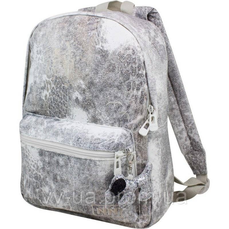 Рюкзак Winner-Stile 210, серебряный, для девочек