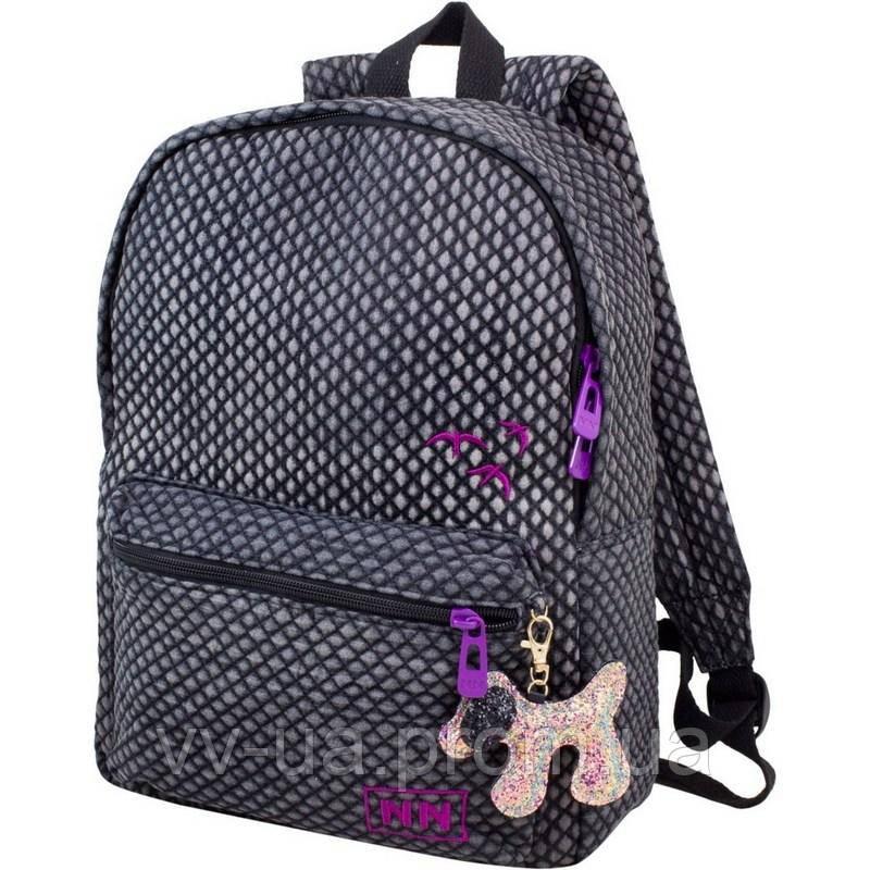 Рюкзак Winner-Stile 223-1, серый, для девочек