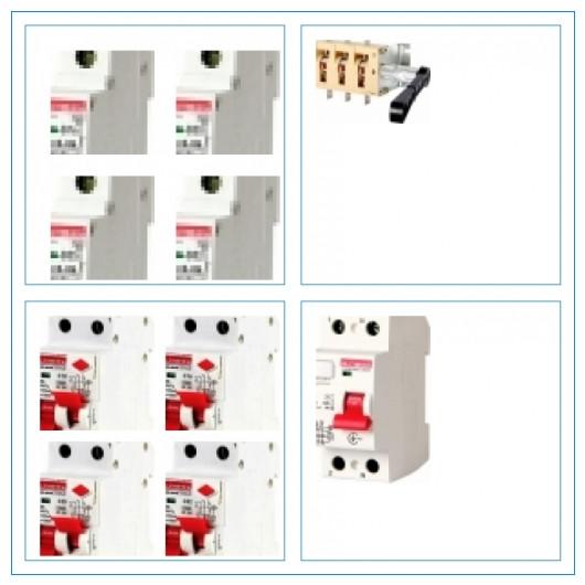 Автоматические выключатели и контакторы