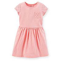Платье ТМ Carters (Картерс) розовое (3Т,5Т)