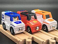 Набор машинок Скорая Пожарная Полиция PlayTive Junior