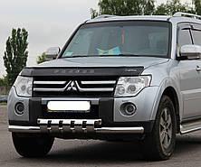 Кенгурятник на Mitsubishi Pajero Wagon 4 (c 2006--) Митсубиси Паджеро Вагон PRS