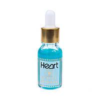 Гель кислотный для удаления кутикул Cuticle Remover Синий 15 мл Heart