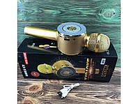 Караоке-микрофон WS-668 (беспроводной) Золото