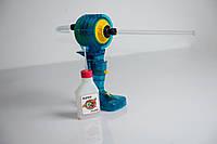 Реквизит дым трубка ручной генератор дыма для шоу мыльных пузырей