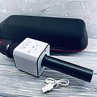 Беспроводной микрофон для караоке Q9 Черный