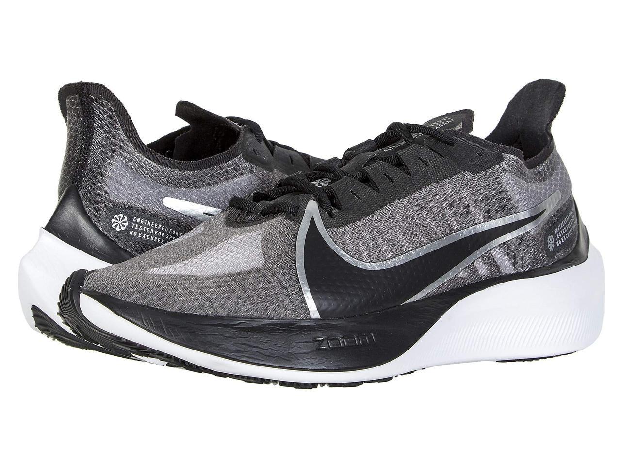 Кроссовки/Кеды (Оригинал) Nike Zoom Gravity Black/Metallic Silver/Wolf Grey/White