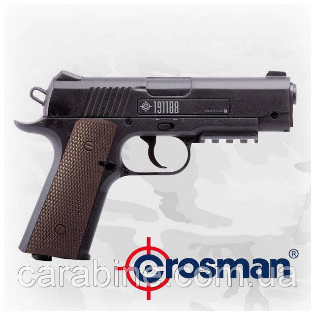 Пневматический пистолет Crosman 1911 Colt BB (RM) (копия Кольт 1911), фото 1