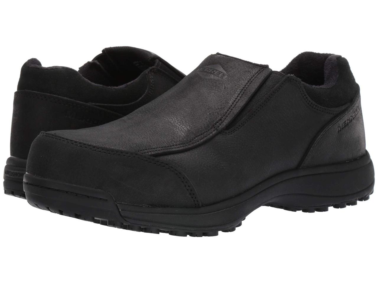 Кроссовки/Кеды (Оригинал) Merrell Work Sutton Moc Steel Toe Black