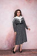 Платье  женское батал  Алина, фото 1