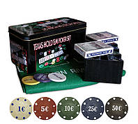 Набор для покера Texas Hold'em Poker 200T с номиналом